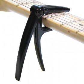 Capo Electric Guitar black curved