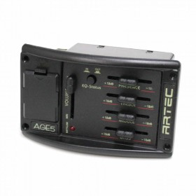 AGE-5, 4 band EQ with EQ status switch