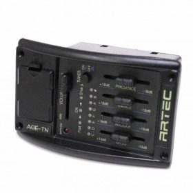 AGE-TN 4 band EQ with Chromatic Tuner