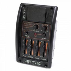 AGE-AIR FM transmitter + Vocal blender