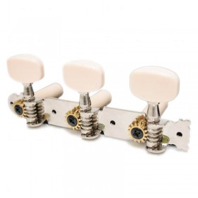 Classical guitar tuners cream knobs