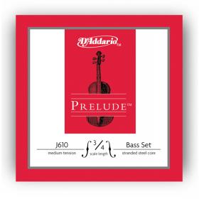 Contrabass String set 3/4-4/4 D'addario Prelude