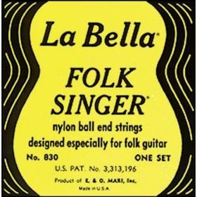 La Bella Strings 830 Folk Singer